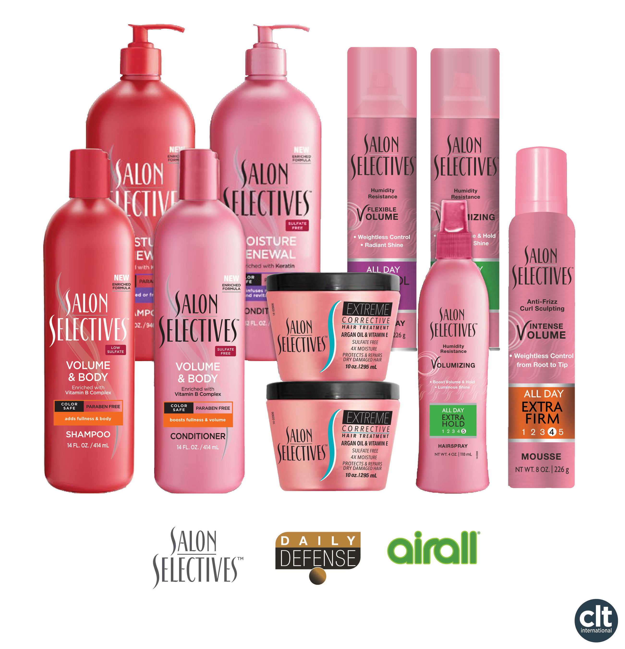 CLT International Announces Acquisition of Additional Rights to Salon Selectives Beauty & Personal