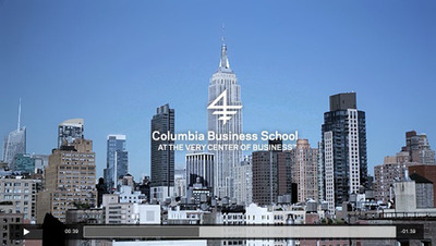 Columbia Business School Unveils New Branding Campaign - At the Very Center of Business.  (PRNewsFoto/Columbia Business School)