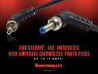 Switchcraft(r), Inc. Introduces Straight and Right Angle Locking High Amperage Overmolded Power Plugs - Up to 11 Amps (PRNewsFoto/Switchcraft)