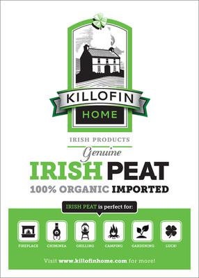 Killofin Home Irish Peat.  (PRNewsFoto/Killofin Home)