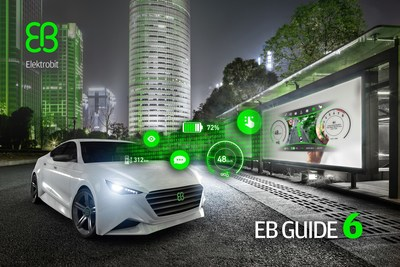 Elektrobit (EB) announces EB GUIDE 6, a modern HMI tool for graphical, voice, touch UX design