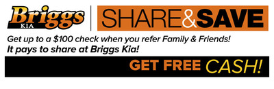 Briggs Kia strives to simplify and restore the thrill of purchasing a new vehicle. (PRNewsFoto/Briggs Kia)