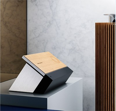 Bang & Olufsen unveils world's first touch-sensitive wood interface