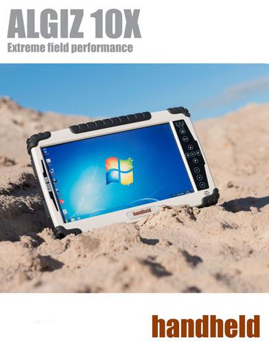 Handheld Lancia l'Algiz 10X, un Tablet Rugged da 10 pollici per uso outdoor