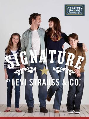 NWT Levis Signature Mens Blue Jeans 38 x 34 Regular Fit Straight ...