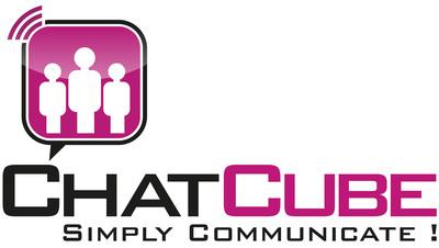 ChatCube Free Calls Logo.  (PRNewsFoto/Goober Networks, Inc.)