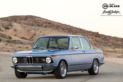 Clarion Builds BMW 2002 at Horse Thief Mile Track at Willow Springs.