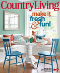 Farmhouse Tables By ECustomFinishes Featured on Cover Of Country Living Magazine September 2013 Issue.  (PRNewsFoto/eCustomFinishes)