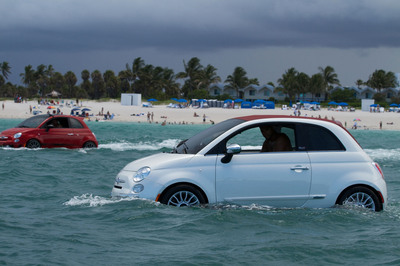 "The ""Fiat Jet-Ski"" is set to make an appearance during this year's Vans US Open of Surfing Event in Huntington Beach, CA (July 20-28).  (PRNewsFoto/Chrysler Group LLC)"