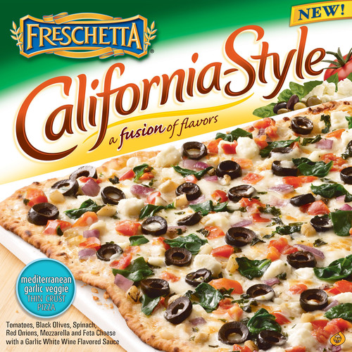 Freschetta® Introduces a Fusion of Flavors With New California-Style Pizzas