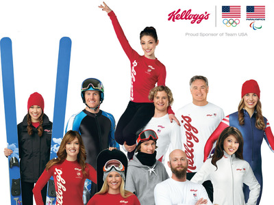 Team Kellogg's is heading home to help feed the potential of kids in need.