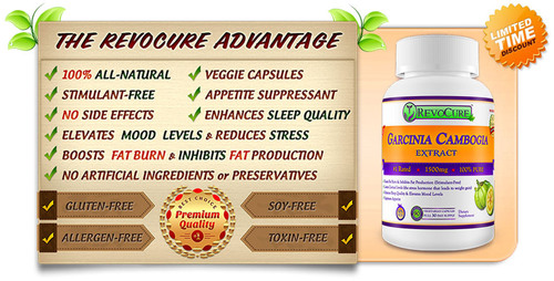 Garcinia Cambogia Weight Loss Supplement from Revocure is now Back in Stock on Amazon.  (PRNewsFoto/Revocure)