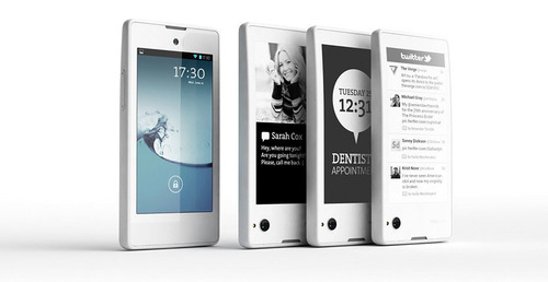 E Ink (8069.TW), a display technology visionary, will be showcasing a number of new consumer products using its unique electronic paper displays at CES 2014, including the YotaPhone, the first dual screen smartphone now in mass production. (PRNewsFoto/E Ink Holdings) (PRNewsFoto/E INK HOLDINGS)