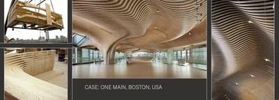 Structural Construction Component Turns Into Astounding Interior (PRNewsFoto/Metsä Wood)