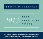Tapad Wins Frost & Sullivan 2013 Best Practices Award for Global Cross-Platform Advertising Customer Value Leadership. (PRNewsFoto/Tapad Inc.)