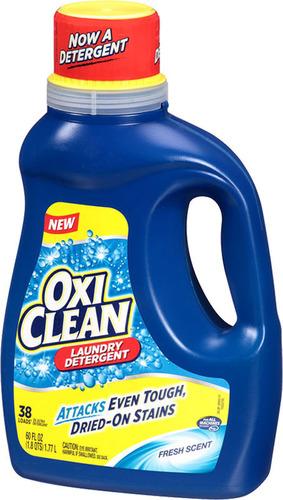 NEW OxiClean Laundry Detergent. (PRNewsFoto/CHURCH _ DWIGHT CO__ INC_)