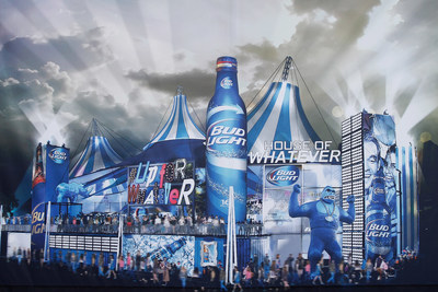 Bud Light unveils its Super Bowl XLIX plans for the first-ever Bud Light House of Whatever, the ultimate #UpForWhatever experience, featuring three days of unforgettable parties, amazing concerts and unique activities - much like Bud Light's summer activation, Whatever, USA.