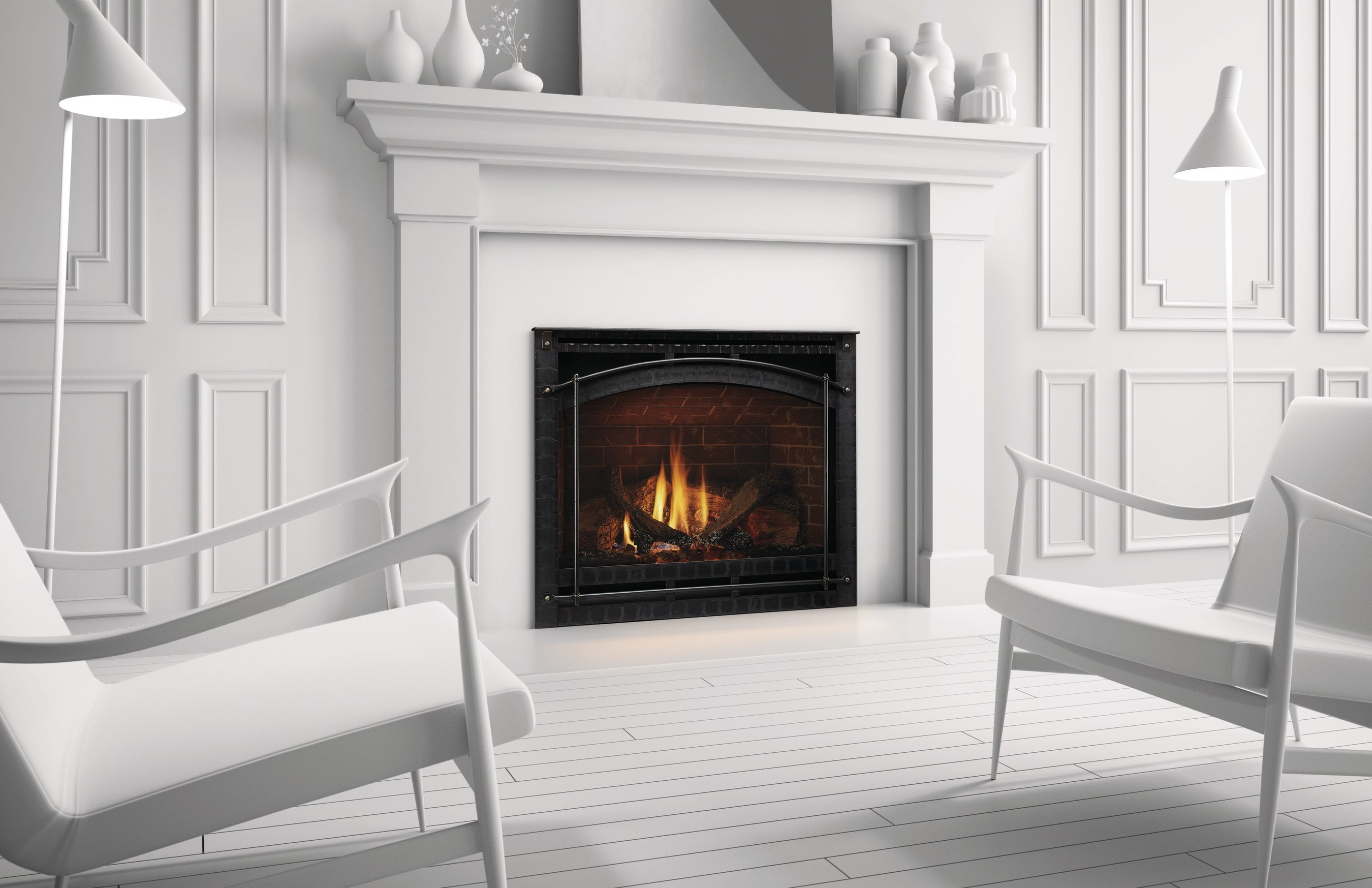Unique Fireplace Installations = Reality with Updated Heat ...