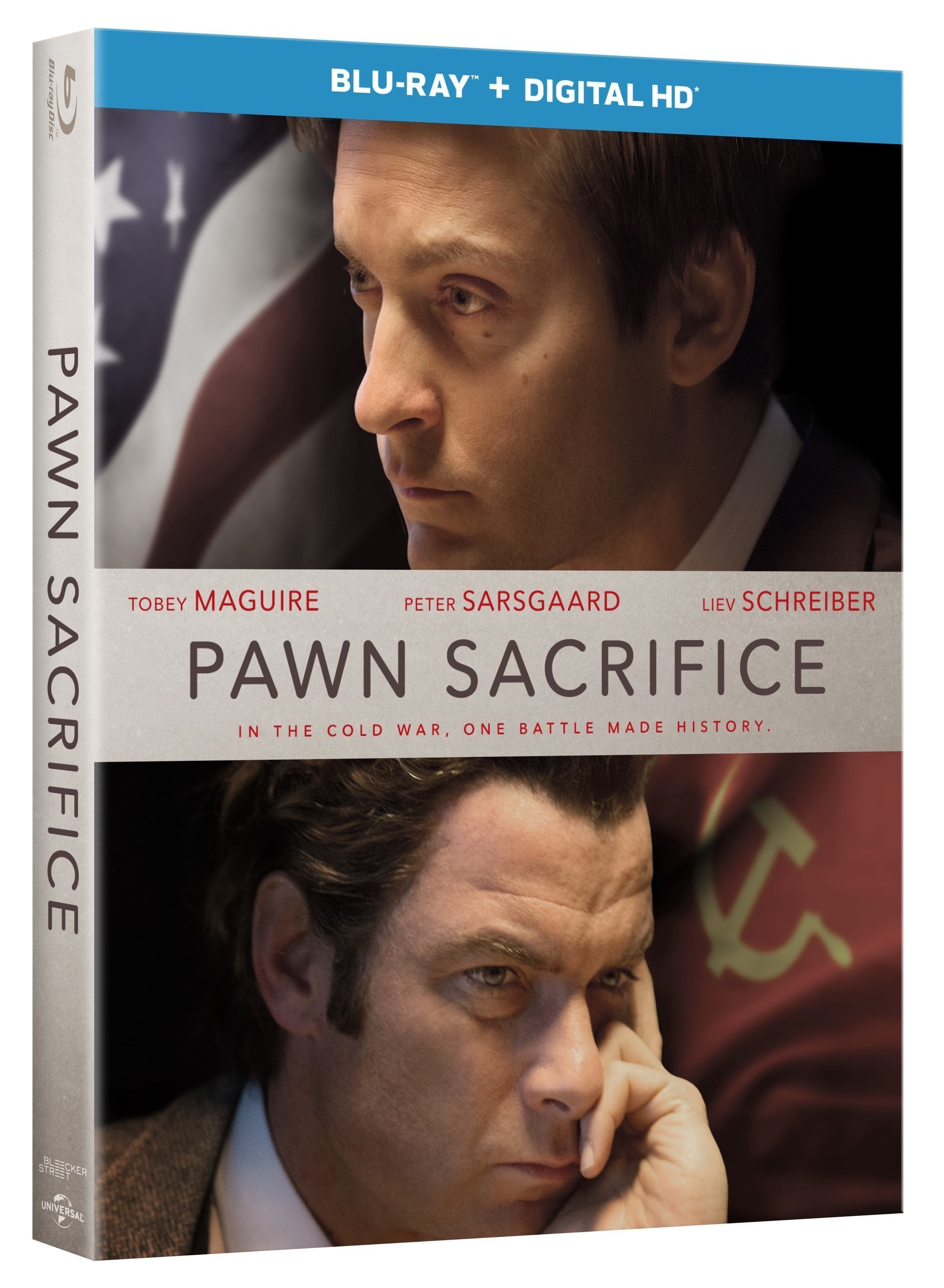 From Universal Pictures Home Entertainment: Pawn Sacrifice