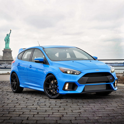 The new Ford Focus RS has a tire story that is unique even for Michelin.