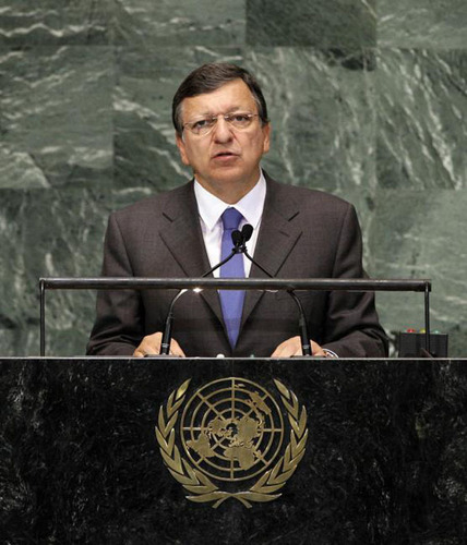 President Barroso: Rule of Law Should Protect Every Person on this Planet.  (PRNewsFoto/Delegation of the ...