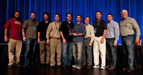 Brown Distributing Company of Florida Named 2012 Craft Beer Distributor of the Year at Great American Beer Festival.  (PRNewsFoto/National Beer Wholesalers Association)