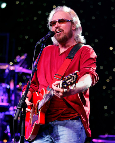 Barry Gibb Announces Mythology: The Tour Live.  (PRNewsFoto/Live Nation)