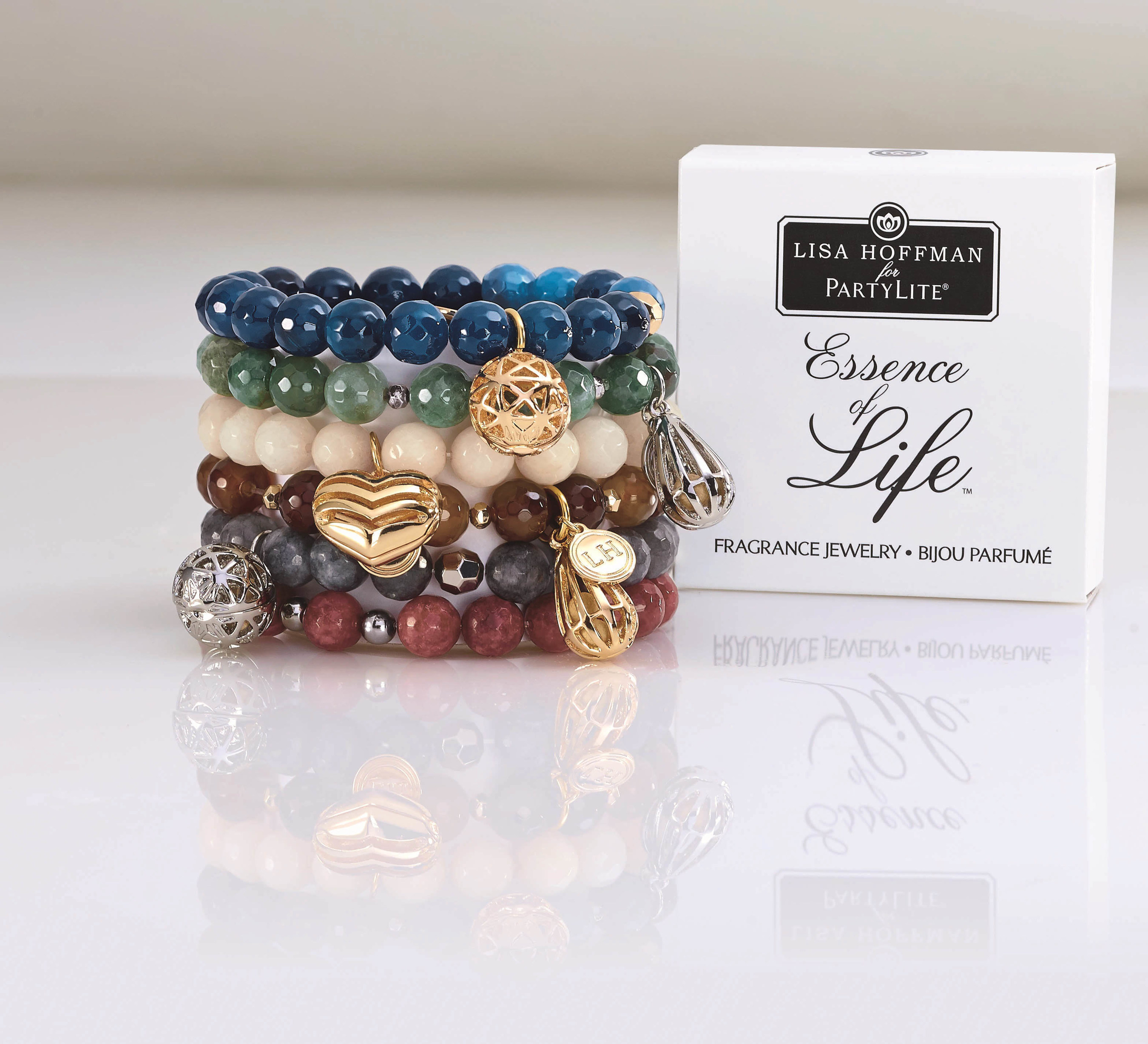 Lisa Hoffman For Partylite Fragrance Jewelry And Essence Of Life