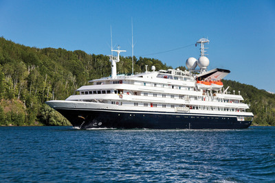 Grand Circle Cruise Line's newly-acquired M/V Corinthian will operate new itineraries in Europe for 2015 while continuing to operate in Antarctica. Acquisition of the 98-passenger ship is part of Grand Circle's plan to expand its small ship fleet and itineraries to meet high demand among American baby boomers and seniors. (PRNewsFoto/Grand Circle Cruise Line) (PRNewsFoto/GRAND CIRCLE CRUISE LINE)