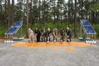Georgia Power, the Department of the Navy, Marine Corps Logistics Base (MCLB Albany) and the Georgia Public Service Commission break ground on a new solar facility at MCLB Albany on April 28, 2016.