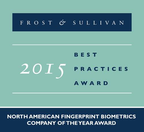 Frost & Sullivan Commends MorphoTrak's Innovation-based Growth in the Fingerprint Biometrics Market
