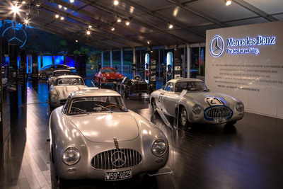 Mercedes-Benz at the 2012 Pebble Beach Automotive Week.  (PRNewsFoto/Mercedes-Benz USA)