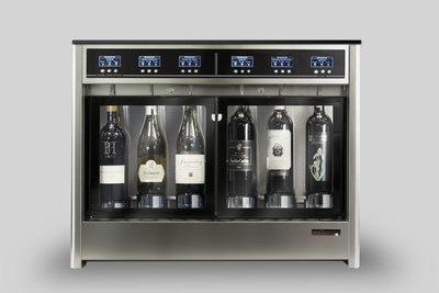 SEI can hold up to six bottles and comes with double-glass door.