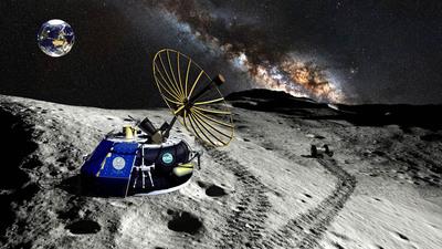 """Moon Express Unveils Breakthrough """"MX-1"""" Commercial Lunar Lander"""