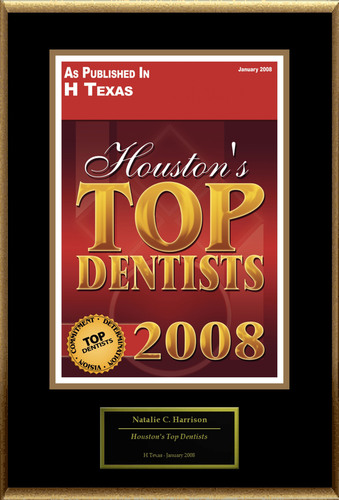 Natalie Harrison, DDS Selected for 'Houston's Top Dentists'