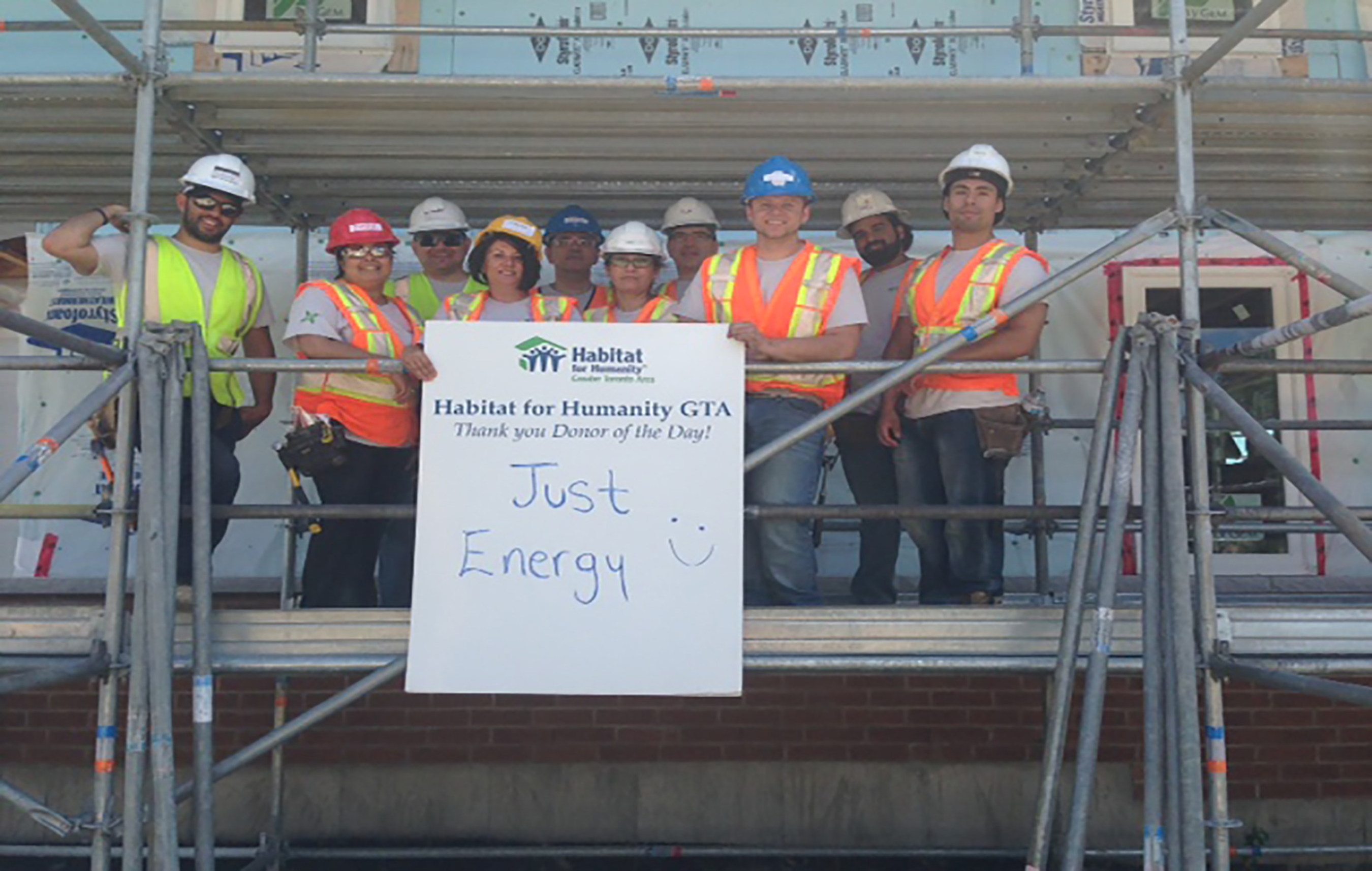 Just Energy Proudly Partners With Habitat for Humanity Canada