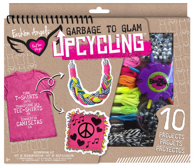 Garbage To Glam Upcycling from Fashion Angels is a 2016 Toy of the Year Finalist.
