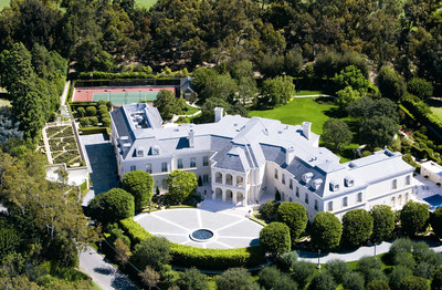 """The Manor"" in Holmby Hills, California"