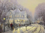 Park West Gallery offers rare Thomas Kinkade art on canvas