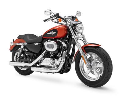 The new Harley-Davidson 1200 Custom.  (PRNewsFoto/Harley-Davidson Motor Company, Brad Chaney)