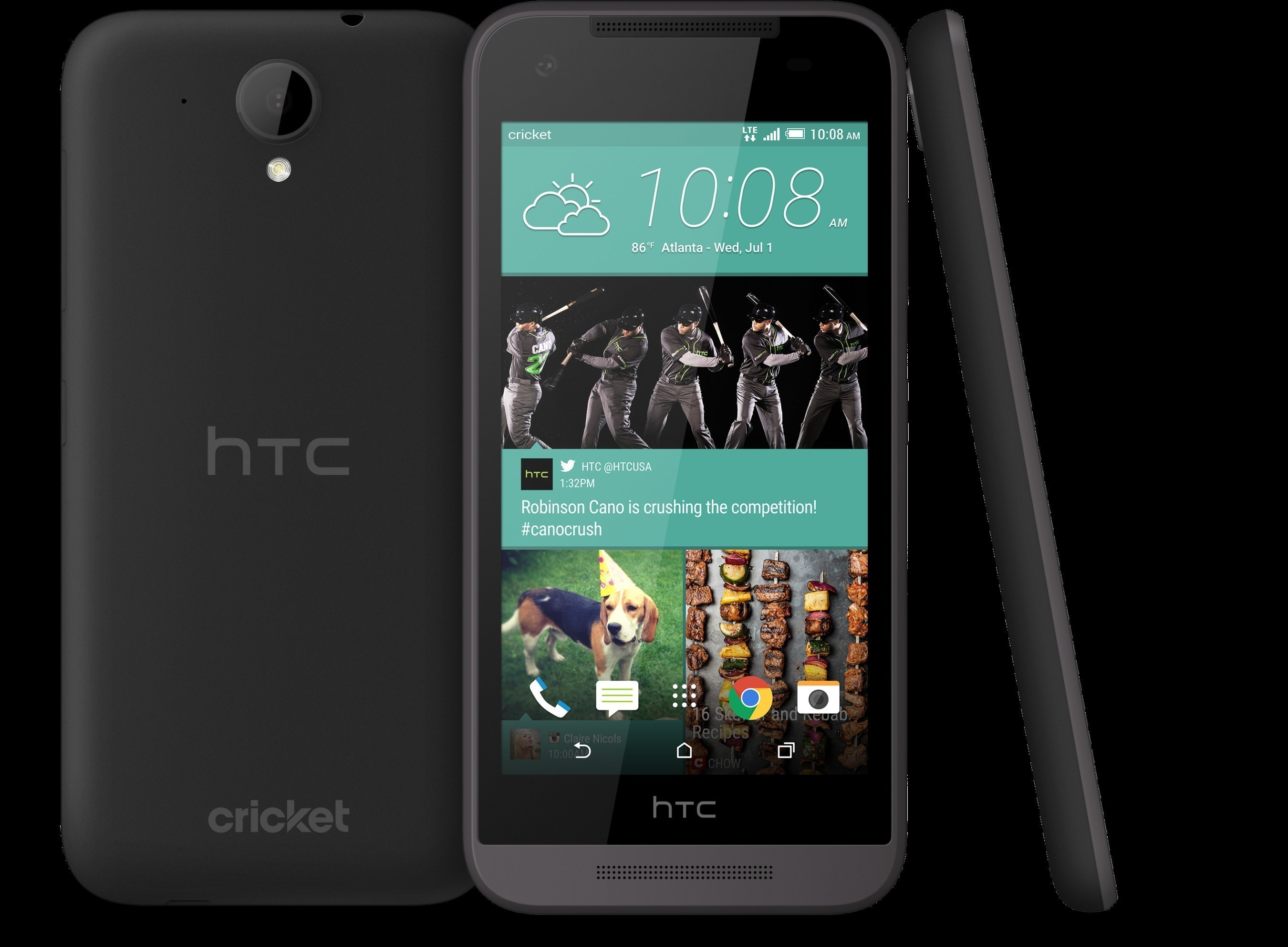 The HTC Desire 520 is one of the new HTC Desire smartphones designed to make premium features affordable and accessible to all.
