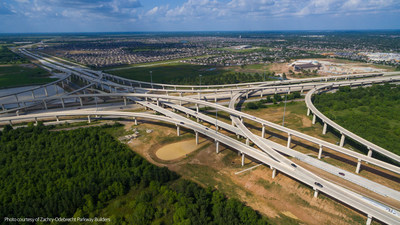 The Grand Parkway Project in Houston, Texas, is a 2016 National Public-Private Partnership Award winner in the Infrastructure Project category.