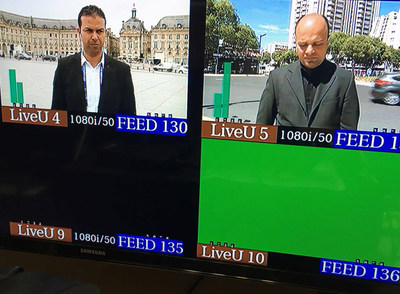 Spanish production company Medialuso used 22 LiveU units for enhanced coverage of UEFA Euro 2016 for beIN Sport