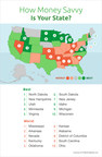 GOBankingRates' Map Shows Best and Worst States by Money Smarts