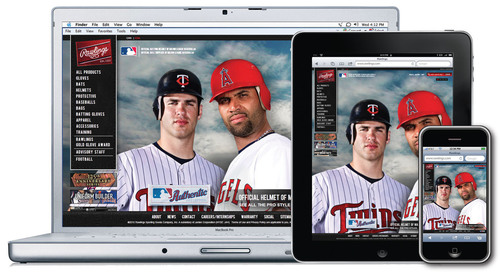 Rawlings' new digital platforms designed to increase consumer engagement with the #1 baseball brand ...
