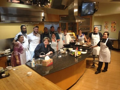 Wounded Warrior Project Alumni learn to cook in San Antonio!