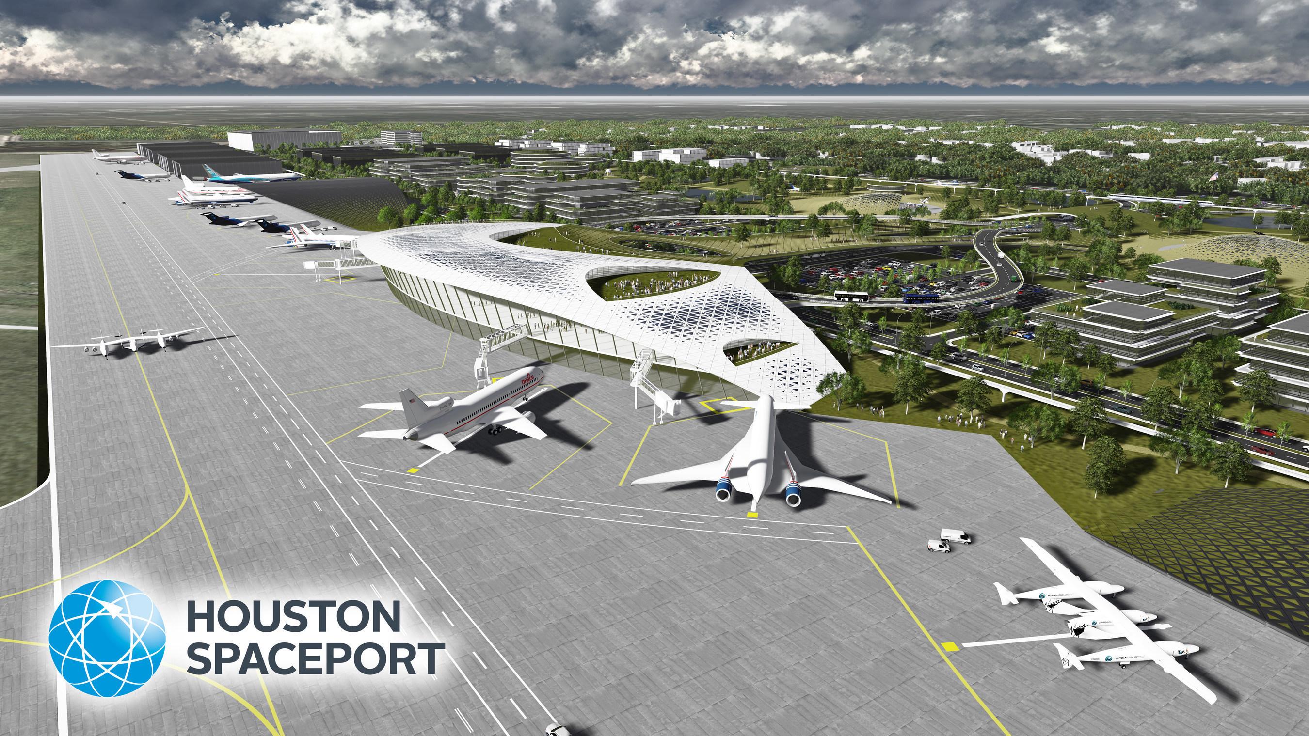 Plannen Houston Airport System voor ruimtevaartcentrum goedgekeurd door FAA