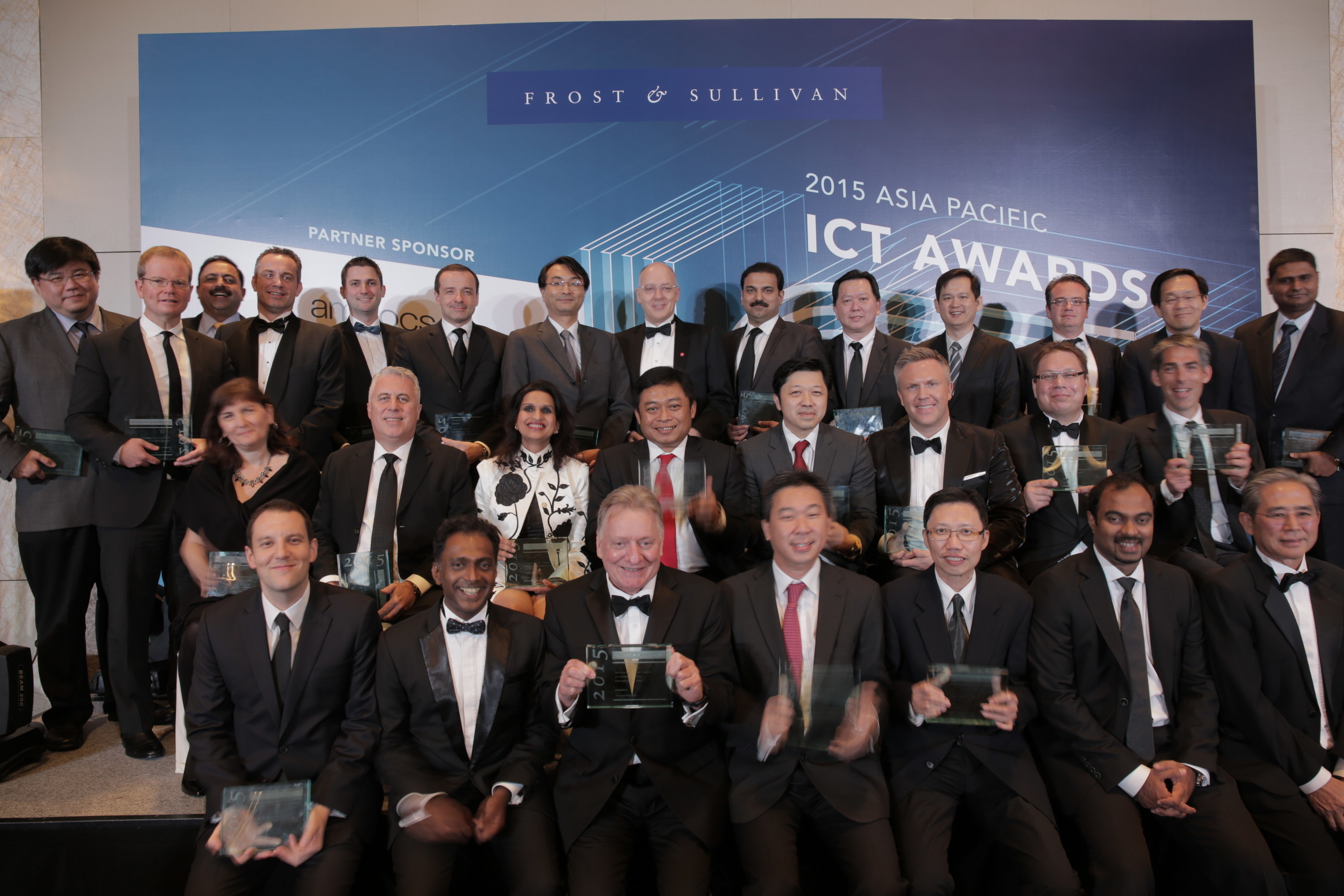 Asia's Top ICT Firms Honored at the 2015 Frost & Sullivan Asia Pacific ICT Awards