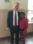 Bob Hilliard and Lakisha Ward-Green
