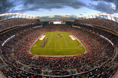 Broncos Home Stadium - Sports Authority Field at Mile High.  Photo courtesy of Sports Authority Field at Mile High.